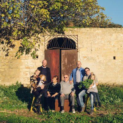 Die versammelte Familie Passalaqua